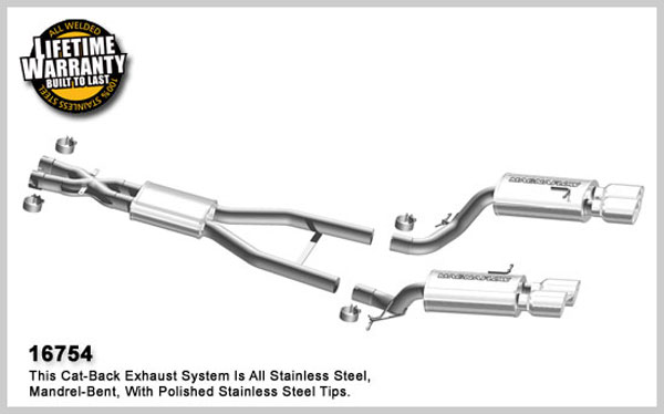 Magnaflow 16754:  Exhaust System for 2006 - 2008 BMW M6 5.0L V10