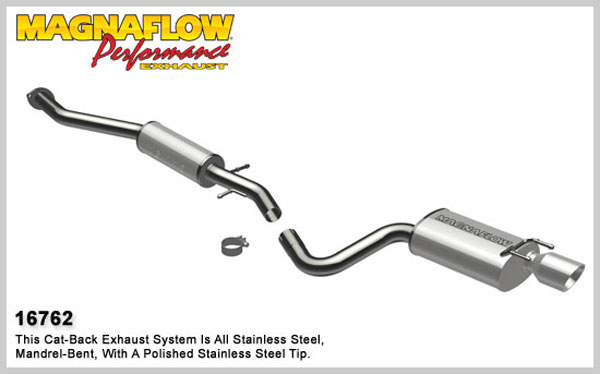Magnaflow 16762:  Exhaust System for 2001-05 Lexus IS300 3.0L