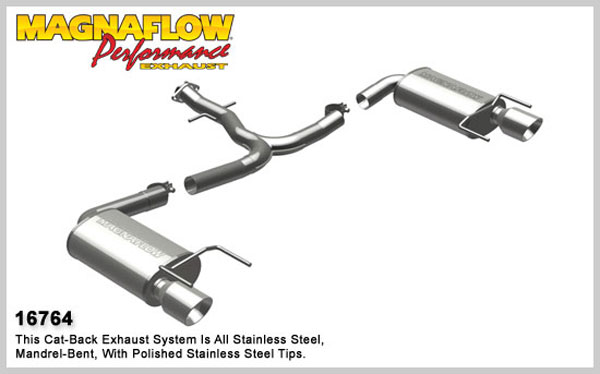 Magnaflow 16764:  Exhaust System for 2006-08 Lexus IS250 / IS350