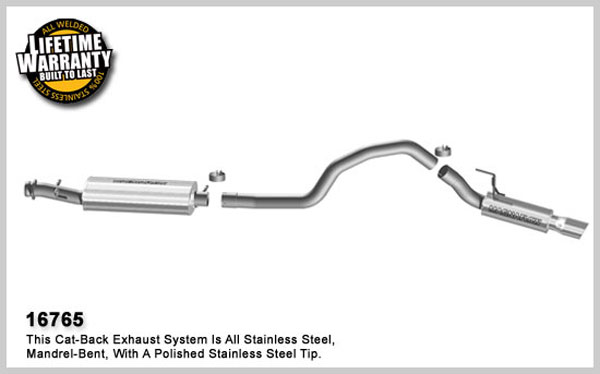 Magnaflow 16765:  Exhaust System for C/B 2007 Lincoln Navigator 5.4L