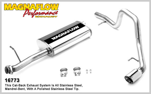 Magnaflow 16773:  Exhaust System for FORD EXPLORER/MOUNTAINEER EDDIE BAUER 2006-2007