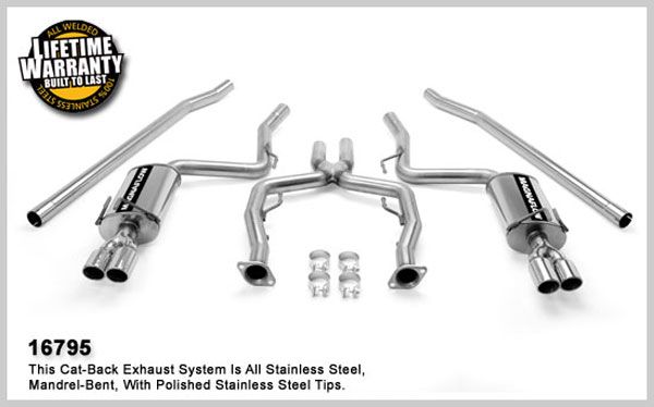 Magnaflow 16795:  Exhaust System for Pontiac G8 6.0L 2008+