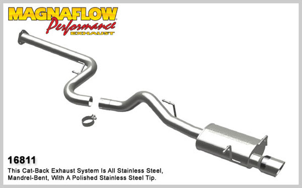 Magnaflow 16811:  Exhaust System for 2008 HHR 2.0L Turbo