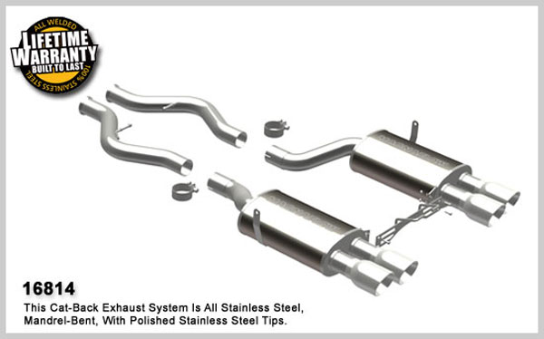 Magnaflow 16814:  Exhaust System for 2008-09 BMW 4.0L E92 Coupe