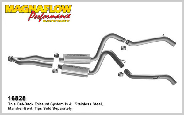 Magnaflow 16828:  Exhaust System for 75-79 Camaro