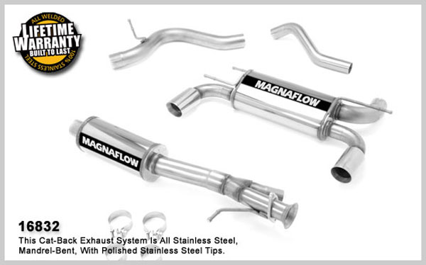 Magnaflow 16832:  Exhaust System for 2008 Hummer H3 5.3L V8