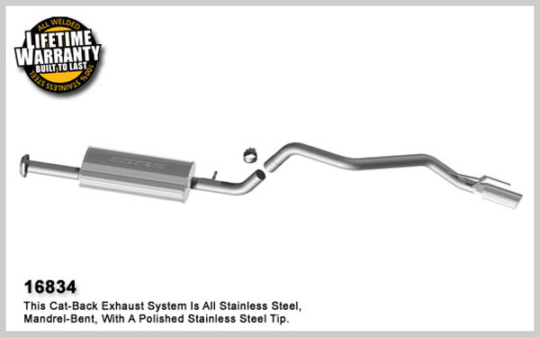 Magnaflow 16834:  Exhaust System for 2007-08 Jeep Grand Cherokee