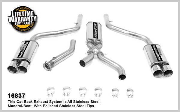 Magnaflow 16837:  Exhaust System for 1993-96 Corvette 350