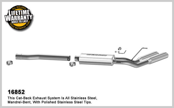 Magnaflow 16852:  Exhaust System for 2008 Dodge Ram 1500 5.7 dual side