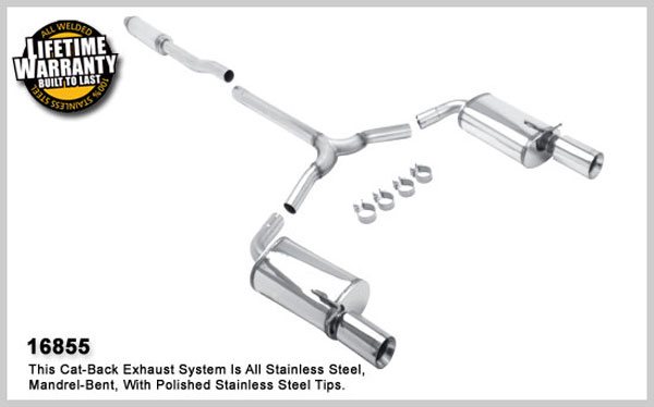 Magnaflow 16855:  Exhaust System for 2008 Mini Cooper S Clubman