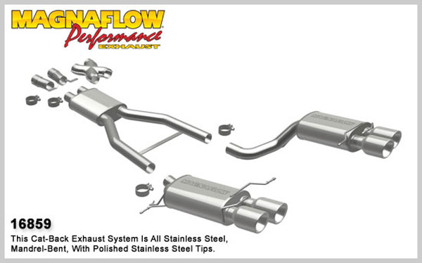 Magnaflow 16859:  Exhaust System for 2006-08 BMW M5 5.0L