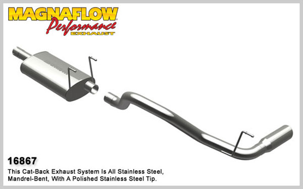 Magnaflow 16867:  Exhaust System for 2009 Dodge Ram Pickup
