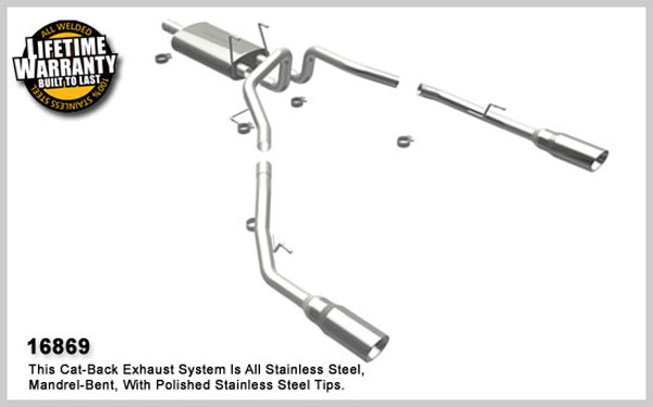 Magnaflow 16869:  Exhaust System for 2009 Dodge Ram Pickup