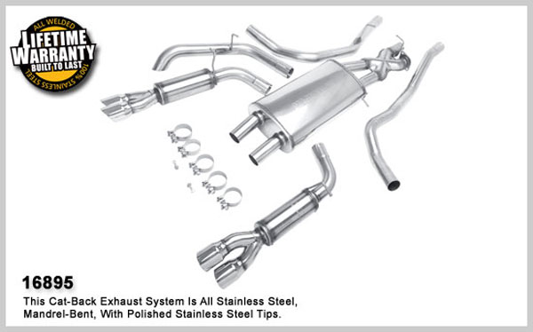 Magnaflow 16895:  Exhaust System for 2005-08 LR3 4.0 / 4.4