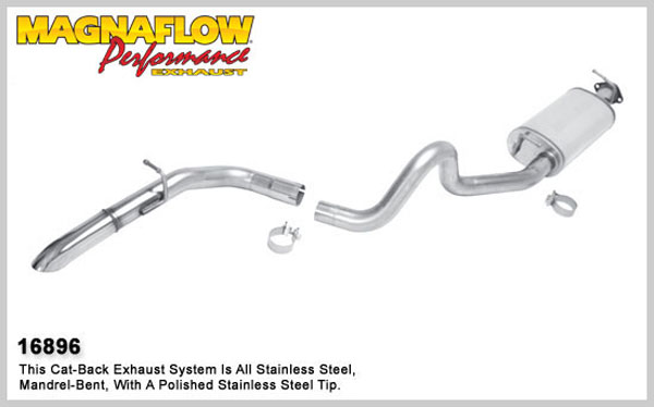 Magnaflow 16896:  Exhaust System for 1994-99 LR Discovery 3.9/4.0