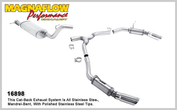 Magnaflow 16898:  Exhaust System for 1995-02 Range Rover dual