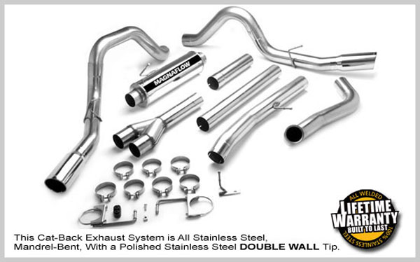 Magnaflow 16966:  Exhaust System for 2005-06 Ford Super Duty F250/