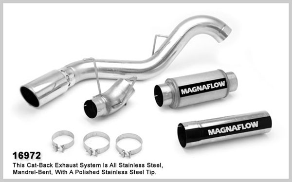 Magnaflow 16972:  Exhaust System for 2007 Dodge Ram CC/MC 6.7L 5 inch