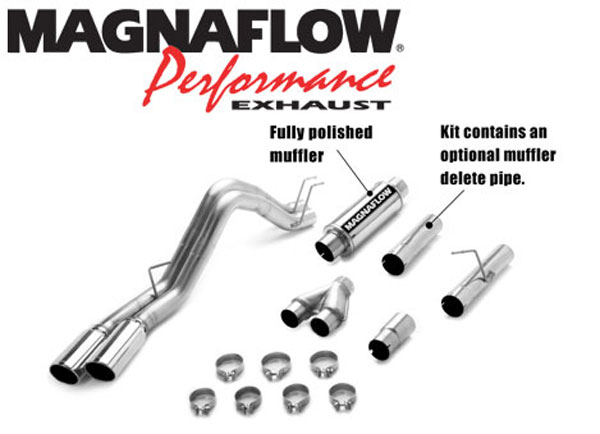 Magnaflow 16987:  Exhaust System for 2008 Ford F-Series 6.4L duals