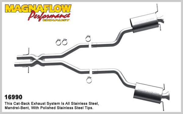 Magnaflow 16990:  Exhaust System for 2003-06 VW Phaeton 4.2L 8