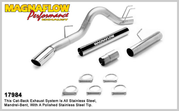Magnaflow 17984:  Exhaust System for 2008 Ford F-Series 6.4L 5 inch