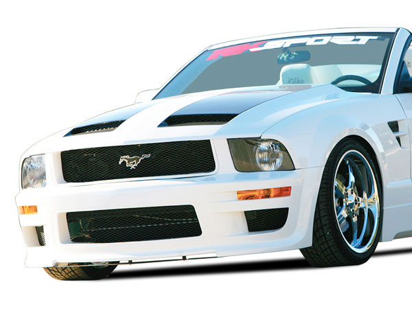 RKSport 18011005: RKSport Mustang California Dream Ram Air Hood 2005-2009 V8