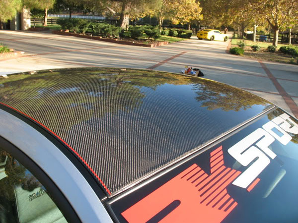 RKSport 18014020 |  Ford Mustang Carbon Fiber Roof Cover; 2011-2012