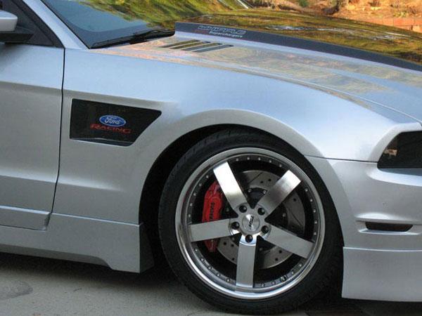 RKSport 18014029 |  Mustang Carbon Inlay Fender (RIGHT SIDE) 2010-2011 V8
