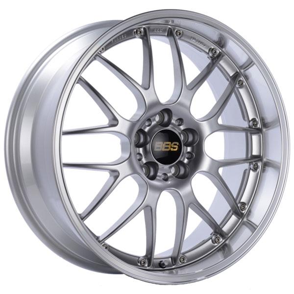 BBS RS963DSPK | RS-GT 20x8.5 5x120 ET15 Diamond Silver Center Diamond Cut Lip Wheel -82mm PFS/Clip Required