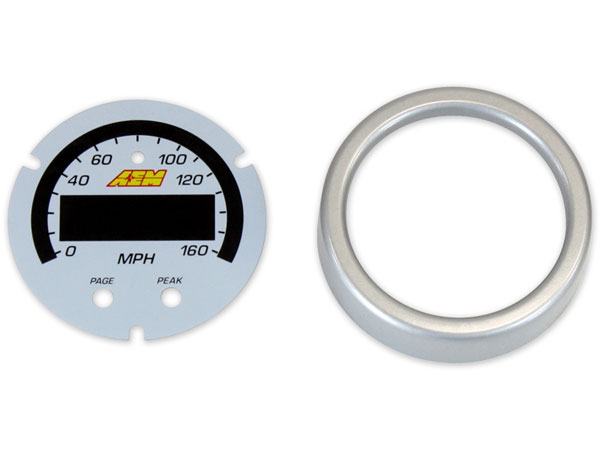 AEM 30-0313-acc | X-Series 0-160 MPH GPS Speedometer Gauge Accessory Kit