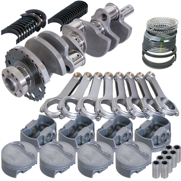 Eagle 129123905 | Chevrolet LS Rotating Assembly (24 tooth reluctor)