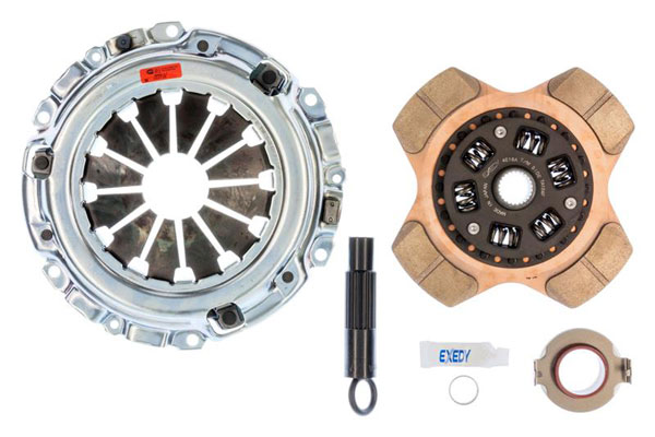 Exedy Racing (08951P4) Exedy Stage 2 Cerametallic Clutch Kit ACURA RSX L4 2 2002-2006; 6Spd Trans.