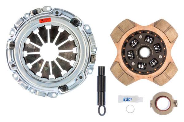 Exedy Racing 08951P4 | Exedy Stage 2 Cerametallic Clutch Kit ACURA RSX L4 2; 6Spd Trans; 2002-2006