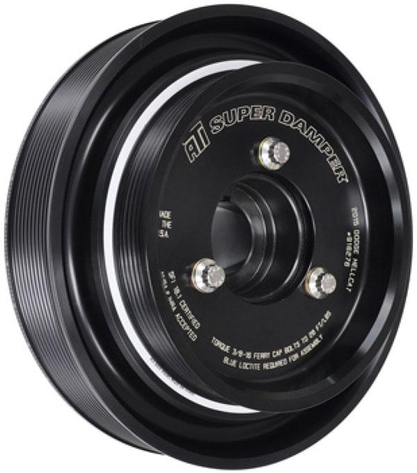 ATI ati918454 | Damper - 7.074in - Alum - 6 Grv - Dodge - 2009+ - 15 Per UD - 5.7L / 6.4L Hemi Truck - 2 Ring