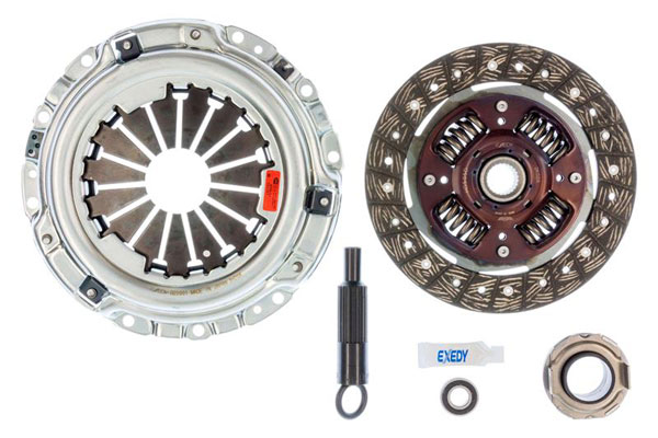 Exedy Racing 08804 | Exedy Stage 1 Organic Clutch Kit ACURA INTEGRA L4 1.8 1990-1991; Cable Type Clutch