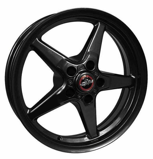Race Star 92-770247B | 92 Drag Star Bracket Racer 17x7 5x4.50BC 4.25BS Gloss Black Wheel