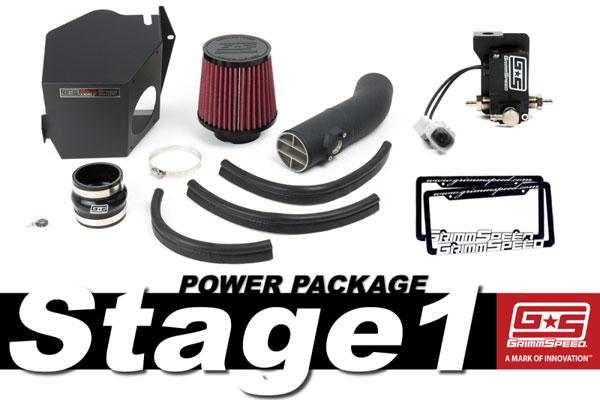 GrimmSpeed 191001 | Grimmspeed Stage 1 Power Package - 08-14 Subaru WRX; 2008-2014