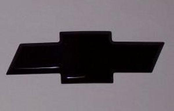 Empire 231B |  Silverado Tahoe/Suburban Bowtie Grille Emblem Smoothie - Black; 1999-2002