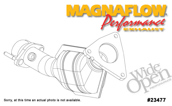 Magnaflow 23477:  49-State Direct Fit Catalytic Converter Driver Side - Standard Grade Camaro 1998-02 V8
