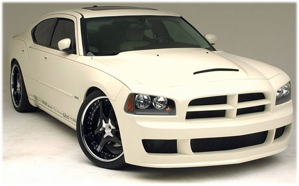 RKSport 24011000: RKSPort 2005-10 Dodge Charger Ram Air Hood