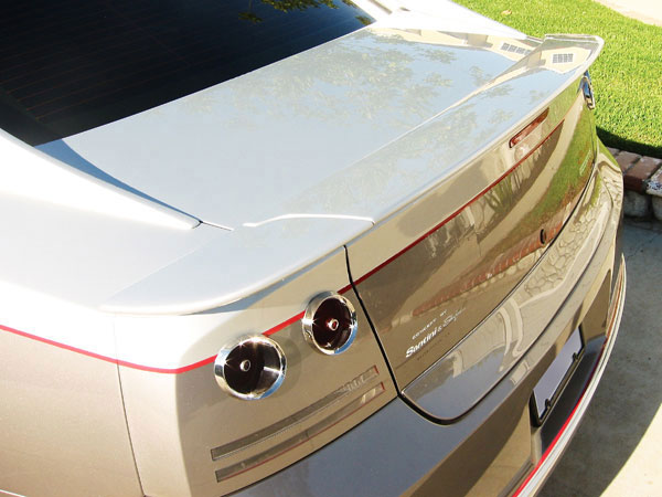 RKSport 24012010 | Charger Heritage Edition Charger Rear Spoiler; 2005-2010