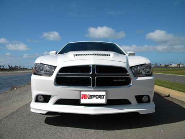 RKSport 24013001 | Dodge Charger Front Lower Facia; 2011-2014