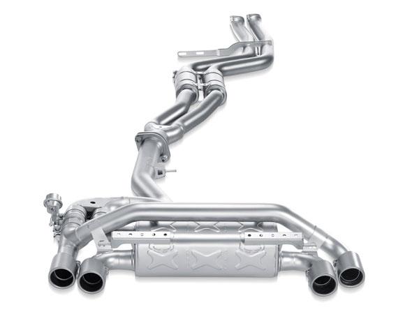 Akrapovic ME-BM/T/3 |  BMW 1 Series M Coupe (E82) Evolution Line (Titanium); 2011-2012