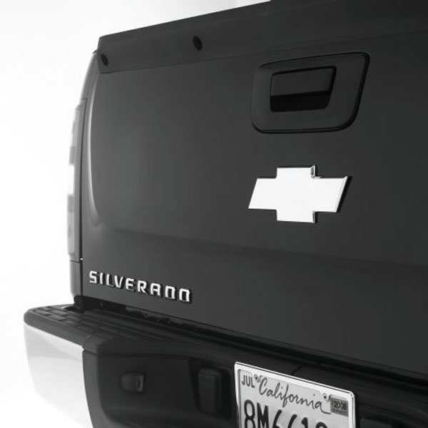 Empire 261RP:  07-up Silverado 1500/2500HD/3500HD & Avalanche Rear Bowtie Emblem Smoothie - Polished
