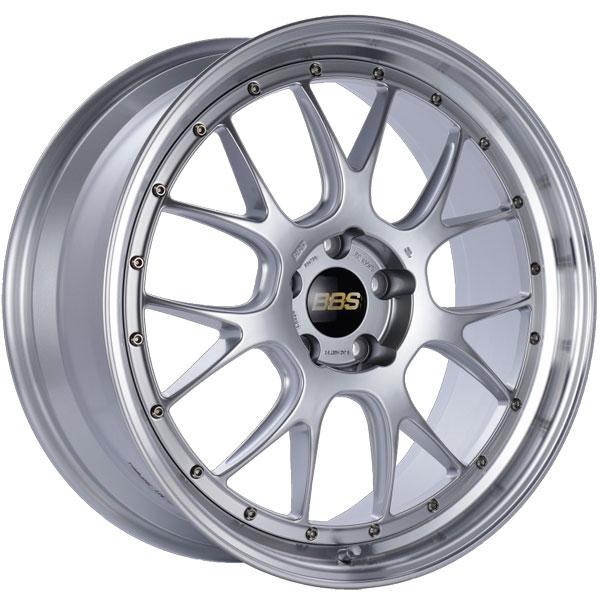 BBS LM325DSPK | LM-R 21x9 5x120 ET32 Diamond Silver Center Diamond Cut Lip Wheel -82mm PFS/Clip Required