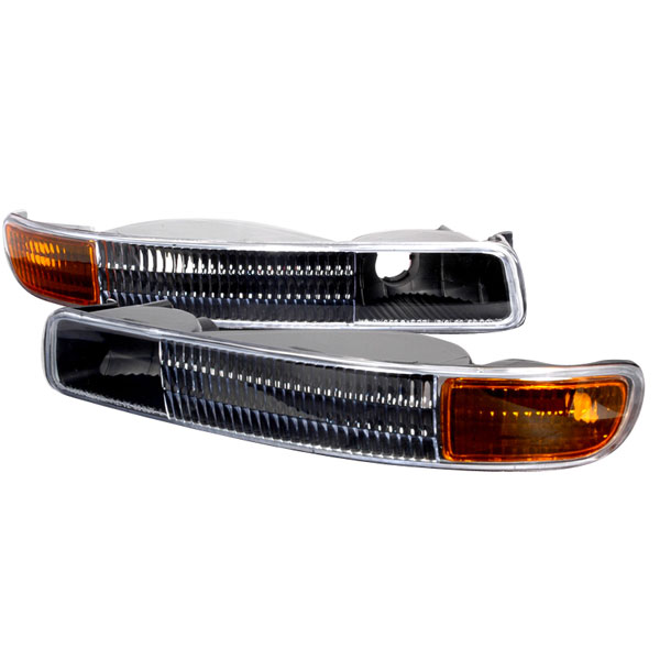 Spec-D Tuning 2LB-GMC99JM-KS: Spec-D 99-05 Gmc Sierra Yukon Bumper Lights (2lb-gmc99jm-ks)