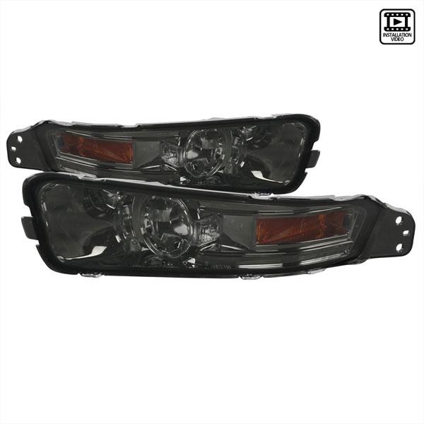 Spec-D Tuning 2LB-MST05G-TM | Spec-D Ford Mustang Signal Bumper Lights (2lb-Mst05g-Tm) V6; 2005-2009