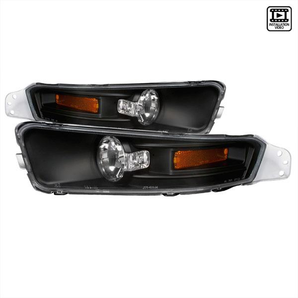 Spec-D Tuning 2LB-MST05JM-TM | Spec-D Ford Mustang Signal Bumper Lights (2lb-Mst05jm-Tm) V6; 2005-2009