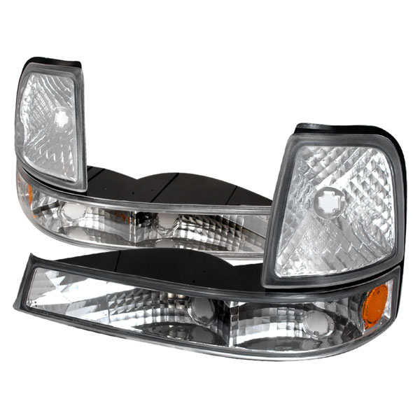 Spec-D Tuning 2LC-RAN98-KS: Spec-D 98-01 Ford Ranger Corner Lights - Euro (2lc-ran98-ks)