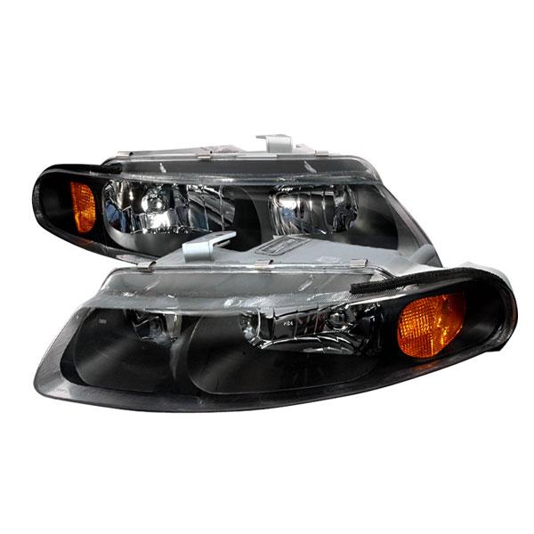 Spec-D Tuning 2LH-AVG97JM-KS   Spec-D 97-00 Dodge Avenger Crystal Headlights